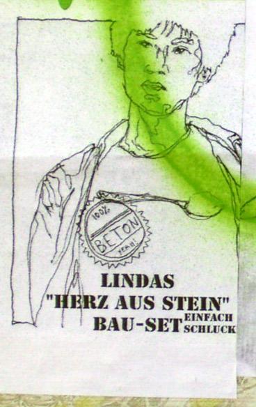 Lindas Herz aus Stein